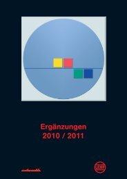 Ergänzungen 2010 / 2011 - Werkzeugfabrik G. Adolf Lemp & Co ...