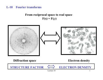 Lecture 10: Fourier Transforms