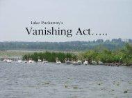 Vanishing Act….. - Green Lake County
