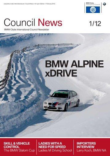 Issue 1/12 - BMW Car Club of America