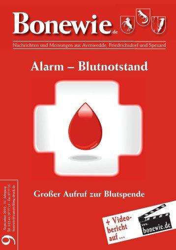 Alarm – Blutnotstand - Bonewie