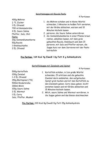 Leichte Sommerrezepte - Rehazentrum Klinik Borkum Riff