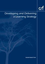 Developing and Delivering a Learning Strategy Corporate - Niace