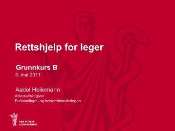 A Heilemann Rettshjelp for legar