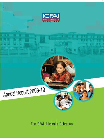 Annual Report - The ICFAI University Dehradun