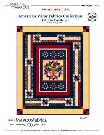 View / Download American Valor Fabrics Collection