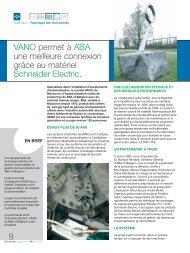 VANO permet à ABA une meilleure connexion grâce au matériel ...