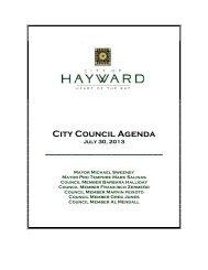 Views - City of HAYWARD