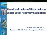 Gary E. Williams, Ph.D. Southwest Florida Water ... - Highlands County