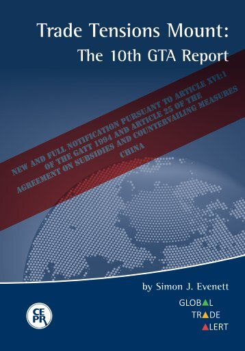 Trade Tensions Mount: The 10th GTA Report - Global Trade Alert