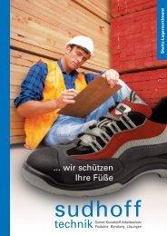 Sudhoff Schuhprospekt.qxd - sudhoff technik GmbH