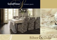 Solidfloor Silver and Gold - Parkett-Store24