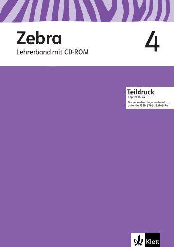 Lehrerband Zebra Klasse 4 - Zebrafanclub