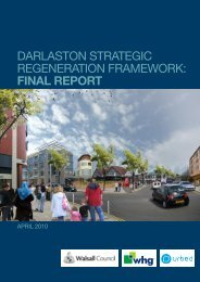 Darlaston strategic regeneration Framework: Final REPORT - Urbed