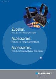 Zubehörkatalog (pdf, 10 MB) - Blaupunkt