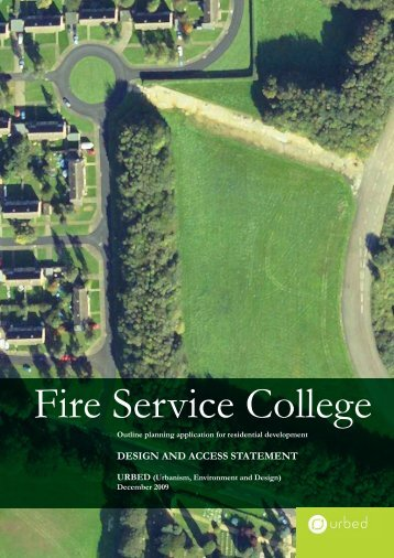 Fire Service College - Urbed