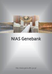 NIAS Genebank - 農林水産技術会議事務局