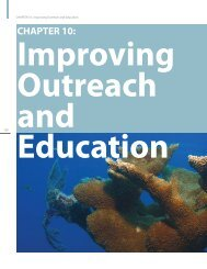 Chapter 10: Improving Outreach and Education - NOAA Coral Reef ...