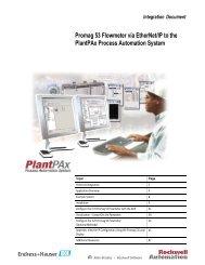 High measuring performance of Endress+Hauser PROline Promag