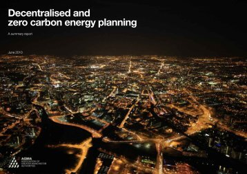 Decentralised and zero carbon energy planning - Urbed