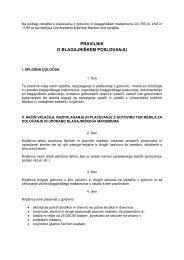 Pravilnik o blagajniškem poslovanju - Univerzitetna knjižnica Maribor