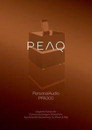 PersonalAudio PPA300 - PEAQ