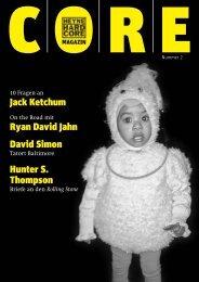Jack Ketchum Ryan David Jahn David Simon ... - Heyne Hardcore
