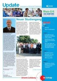 Update 03-2008 - Rhein-Erft-Akademie