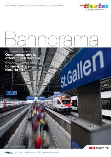 Bahnorama downloaden - Thurbo