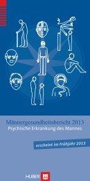 Flyer zum Männergesundheitsbericht 2013 - Erster Deutscher ...