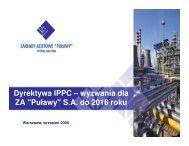 Dyrektywa IPPC – wyzwania dla ZA