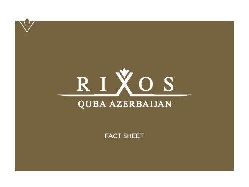 villas - Rixos Hotel