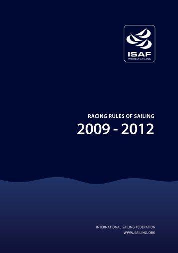 racing rules of sailing 2009 - 2012 - Benfleet Yacht Club
