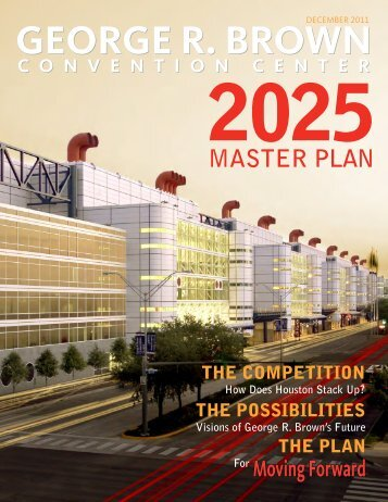 GRBCC 2025 Master Plan - Downtown Houston