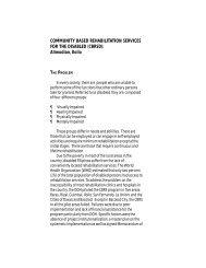 Community Based Rehabilitation Services - galing pook