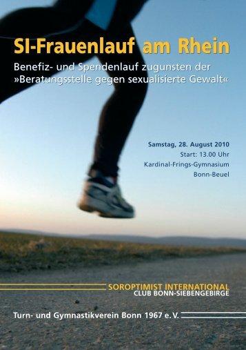 SI-Frauenlauf am Rhein SI-Frauenlauf am Rhein - SI-Club Bonn ...