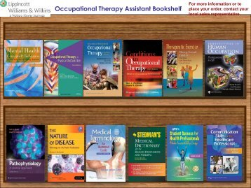 Occupational Therapy Assistant Bookshelf - Lippincott Williams ...