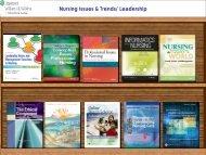 Nursing Issues & Trends/ Leadership