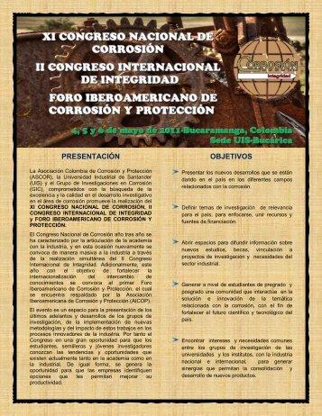 PRESENTACIÓN OBJETIVOS - Universidad Industrial de Santander