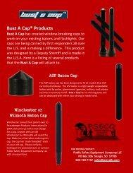 bust a cap brochure - Public Safety Equipment Company LLC