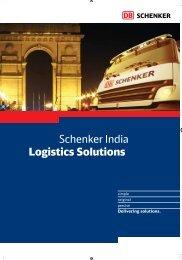 Schenker India Logistics Solutions - DB Schenker in India