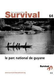 Survival/Nouvelles 62 - Survival International