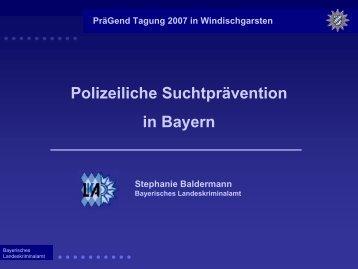 praegend07-bay - Institut Suchtprävention