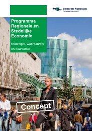 Programma Regionale en Stedelijke Economie - Gemeente Rotterdam