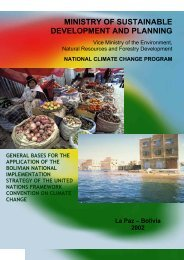 NATIONAL CLIMATE CHANGE PROGRAM