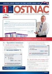 Zpravodaj Ostnáč 1/2012 - Ježek software