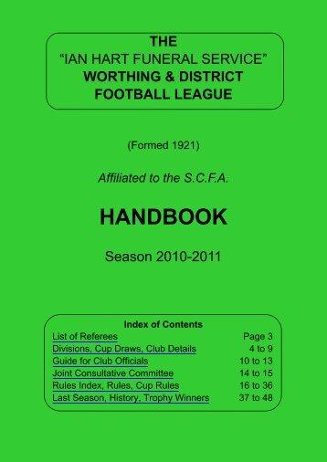 Worthing League Handbook Version 3 2010-11.pub - The Football ...