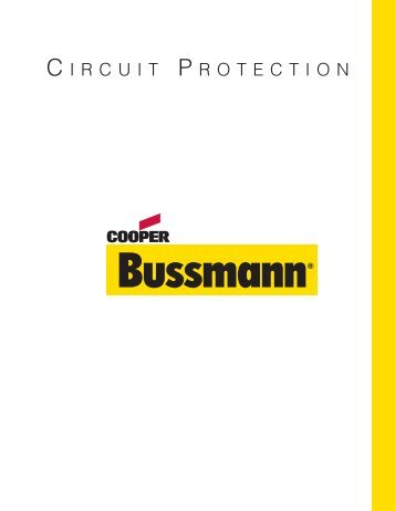 Circuit Protection Catalog - Cooper Industries