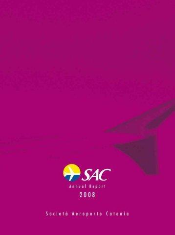 Annual report 2008 - Aeroporto di Catania