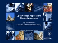 What is an open college application?